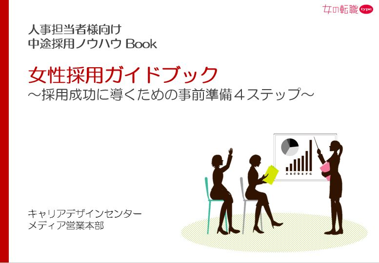 女性採用ガイドブック(事前準備編)TOP